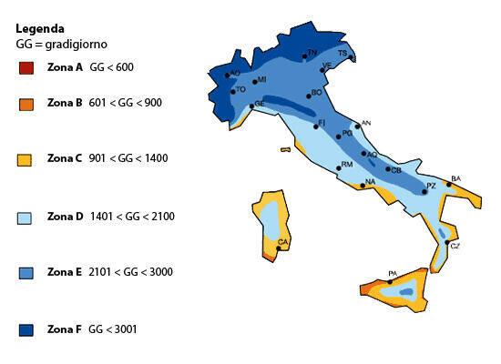 Il DPR74/2013 Regolamenta I Limiti Di Esercizio Degli Impianti Termici Per  La Climatizzazione Invernale, Individuando Il Periodo Di Accensione E Il  Numero ...