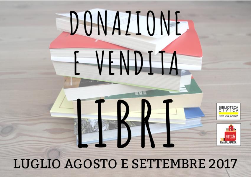 Donazione e vendita libri progetti conclusi biblioteca for Libri vendita