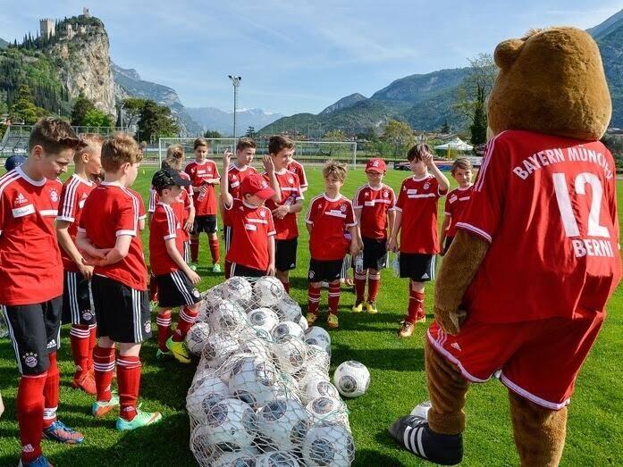 Allenamento FC Bayern München nazionali